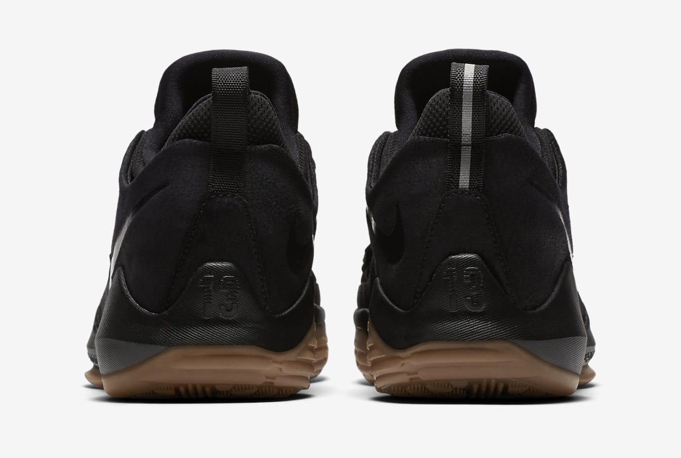 Nike PG1 Black Gum 878628-004 Heel