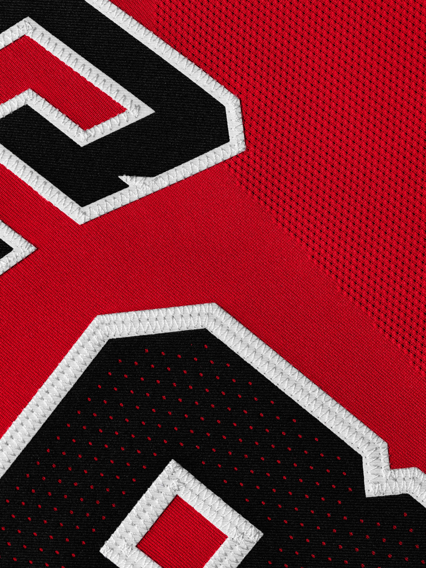 Image via Nike Michael Jordan Chicago Bulls Last Shot Jersey (Authentic  Detail) c5f923d26