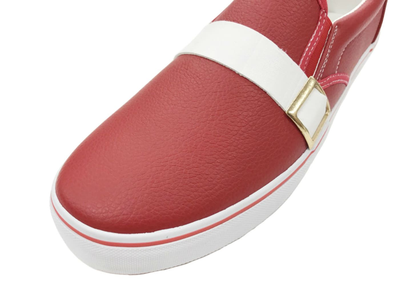 Sonic the Hedgehog Annipon Red Sneakers Toe