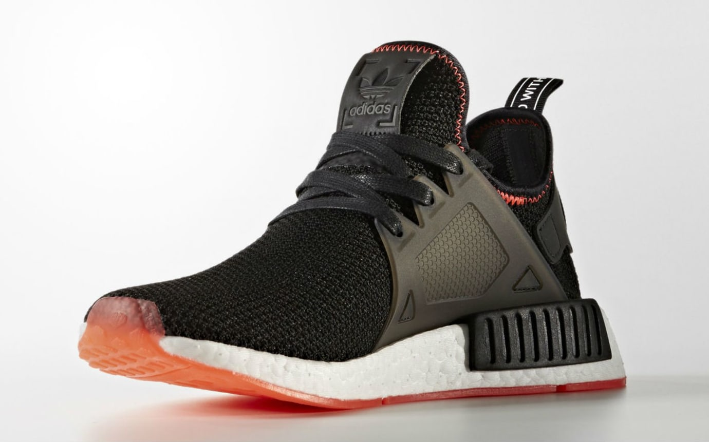 sneakers for cheap f395d ec116 Adidas NMD XR1 Bred Release Date Medial BY9924