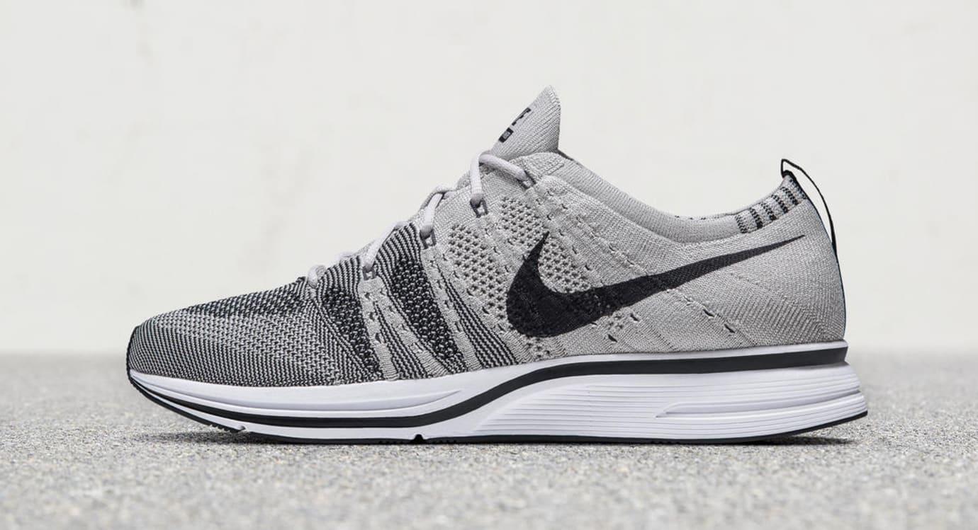 Pale Grey Nike Flyknit Trainer