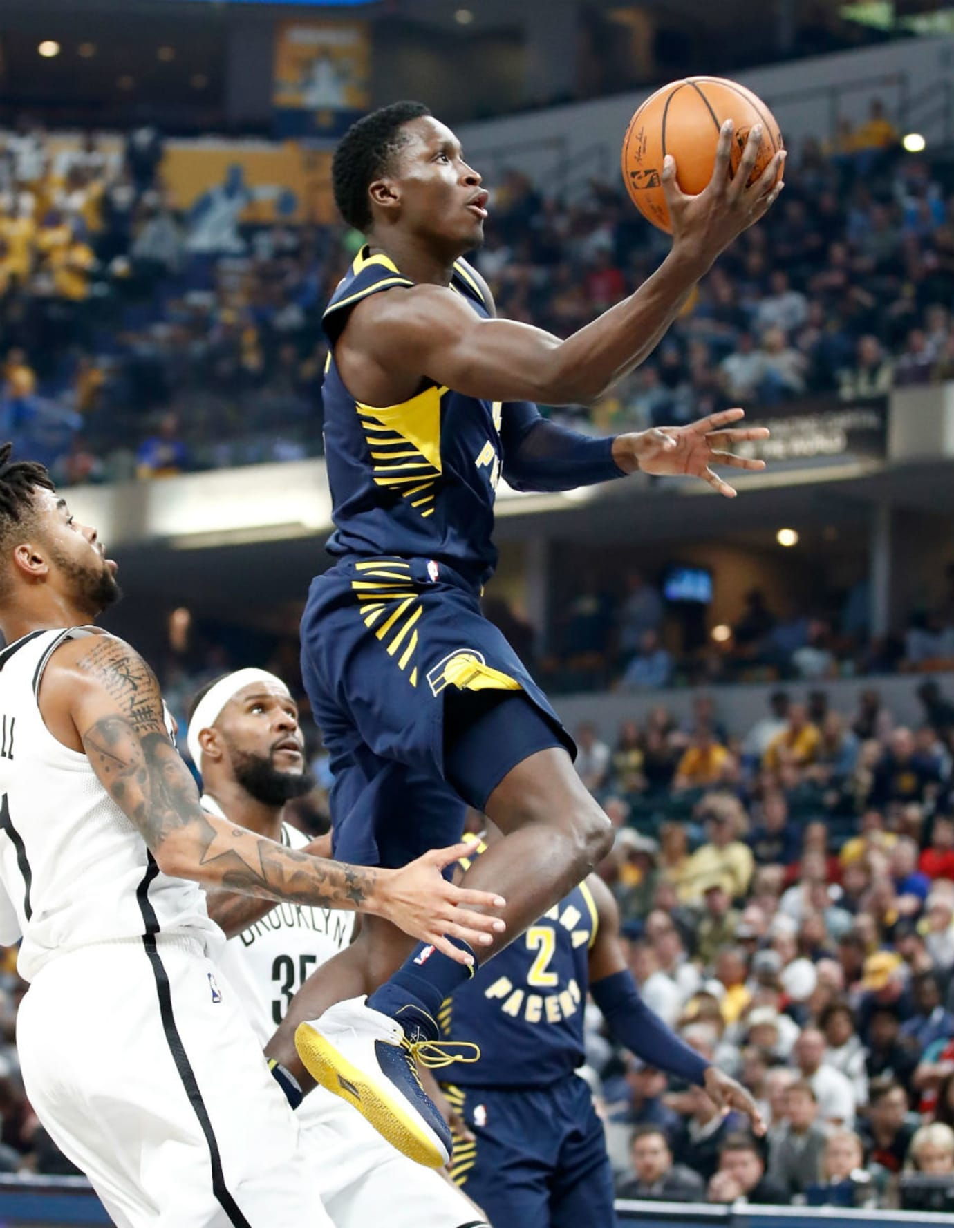 Victor Oladipo Air Jordan 32 Low Pacers PE