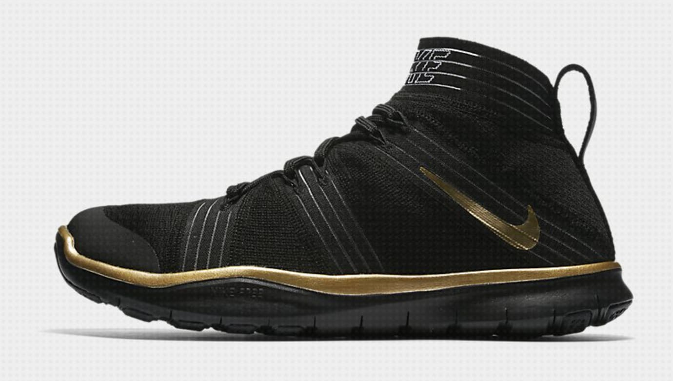 bc22a1e4b5999 Image via  sinshouhin com on Twitter · Kevin Hart Nike Free Train Virtue  Black Profile