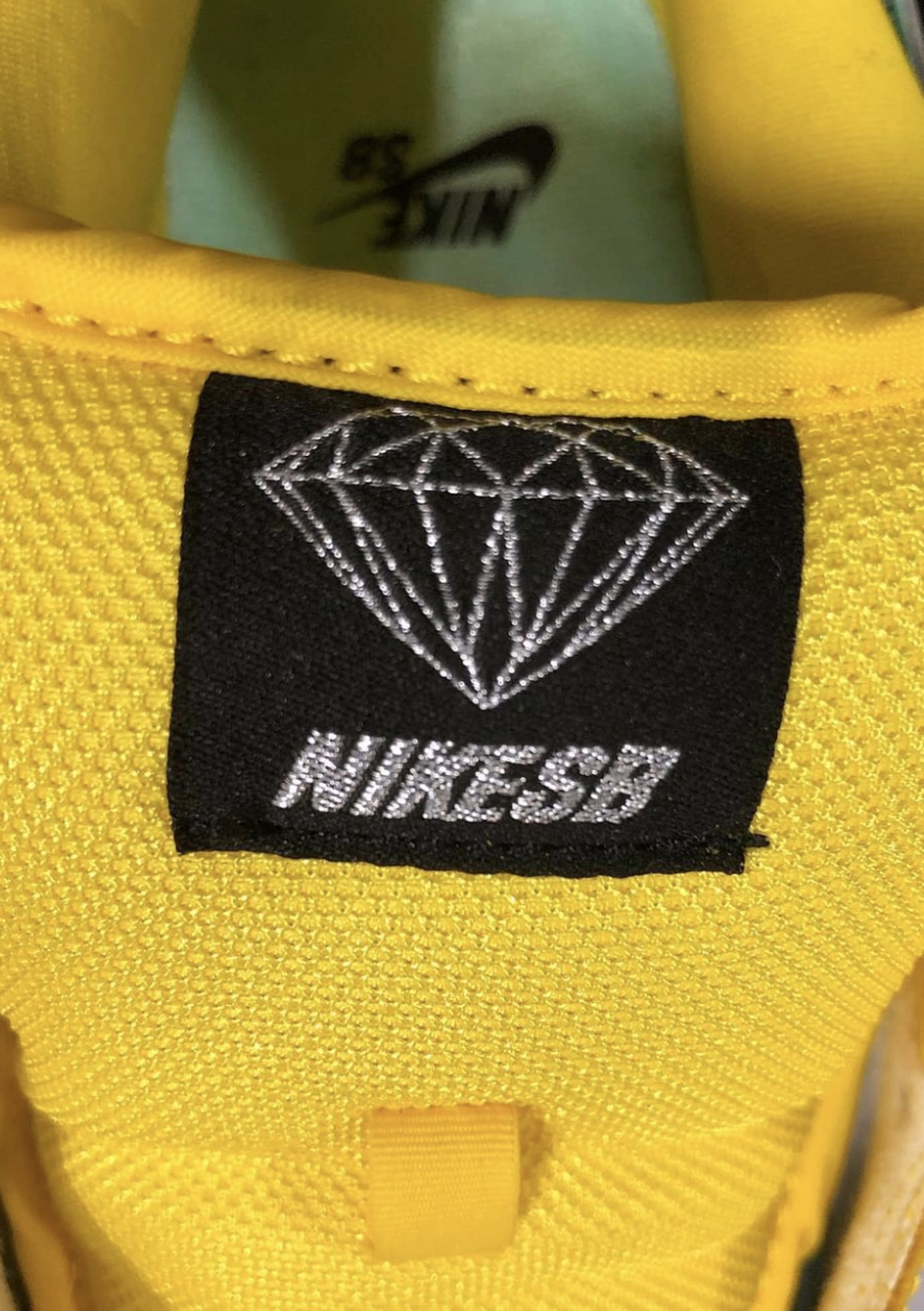 Diamond Supply Co. x Nike SB Dunk Low 'Canary Yellow' 5