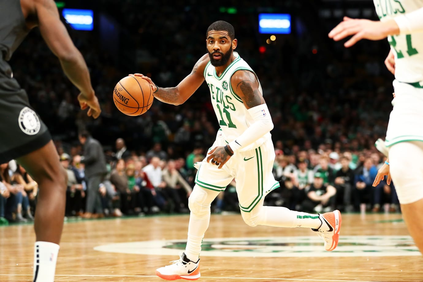 Kyrie Irving in the Nike Kyrie 5 'Vapor X'