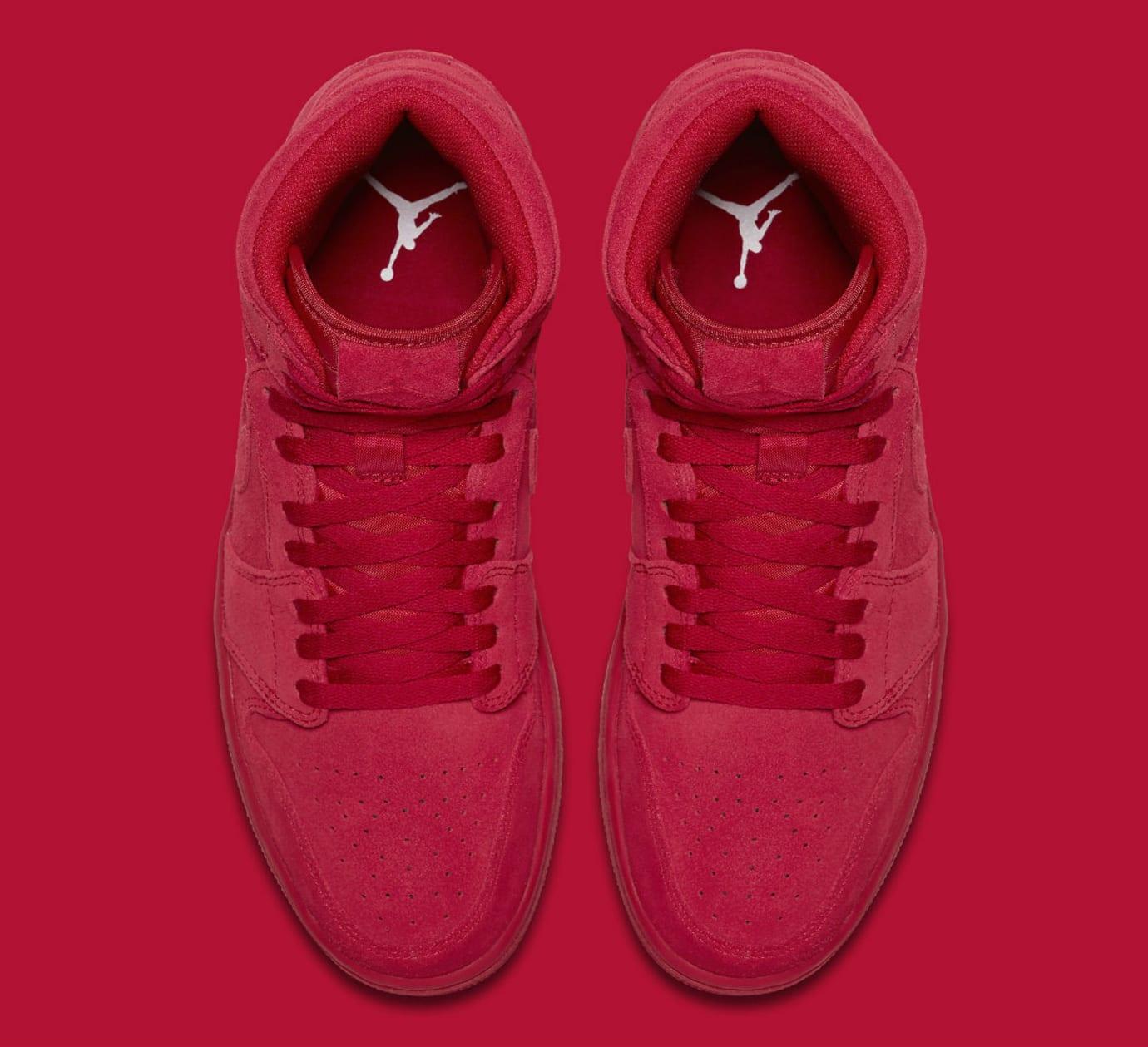 fe2dcf9dcb8c Air Jordan 1 High Red Suede Release Date Top 332550-603