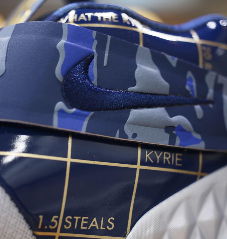 Nike Kyrie S1 Hybrid 'Blue/Gold' (Strap)
