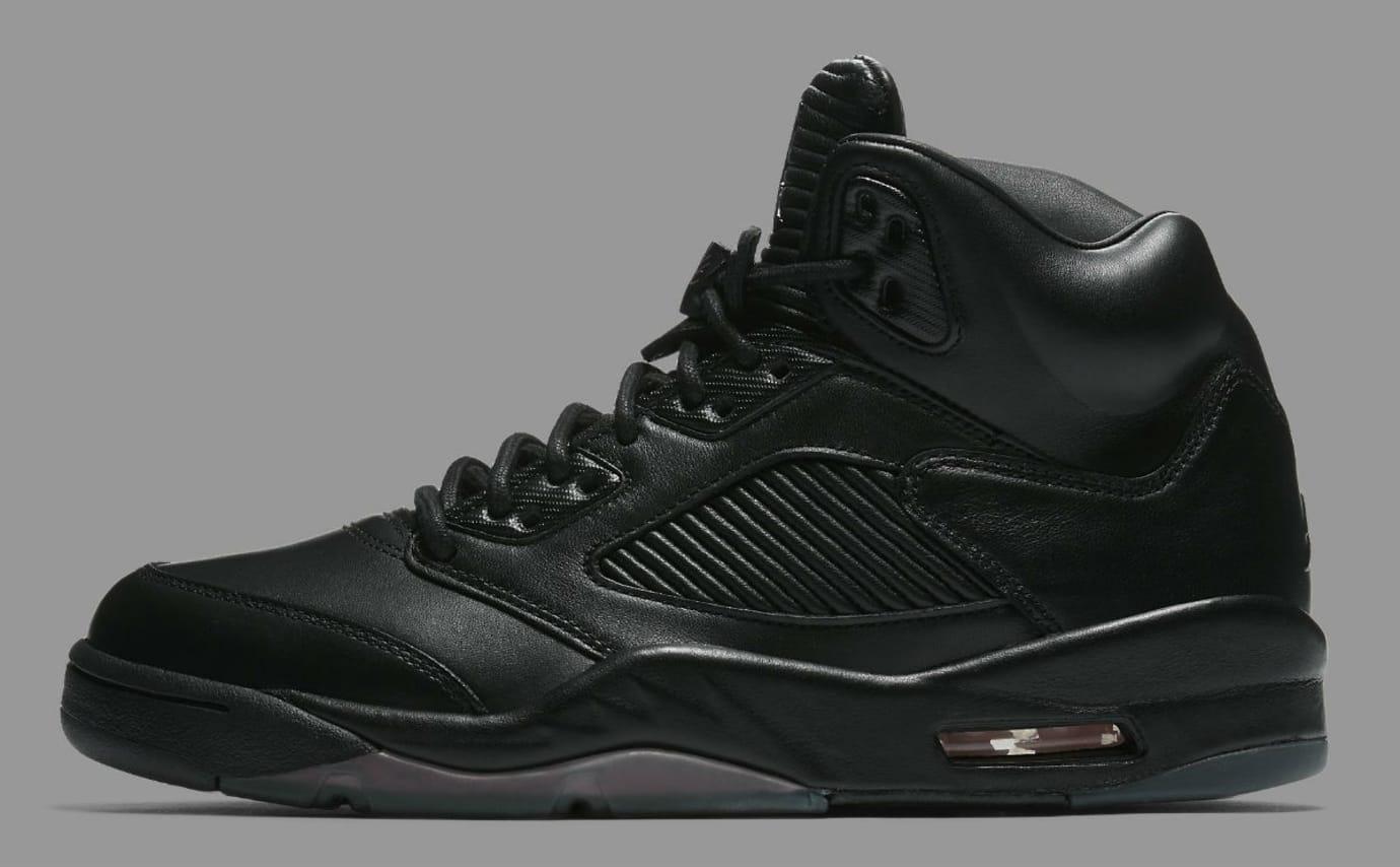 Air Jordan 5 Premium Black Release Date Profile 881432-010