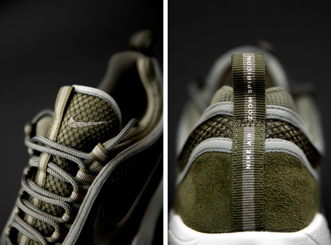 size? exclusive Nike Zoom Spiridon 'Olive' (Details)