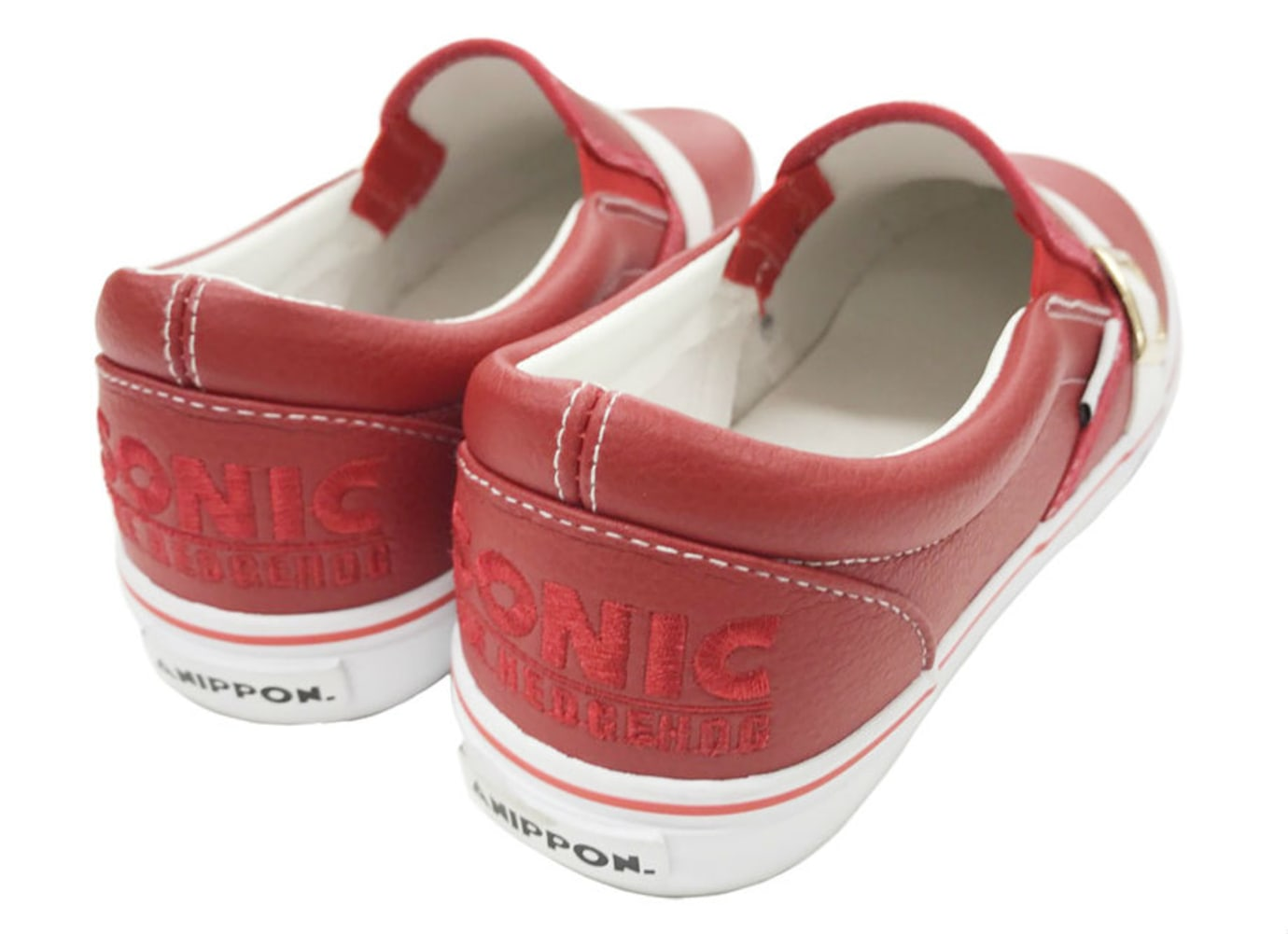 Sonic the Hedgehog Annipon Red Sneakers Heel