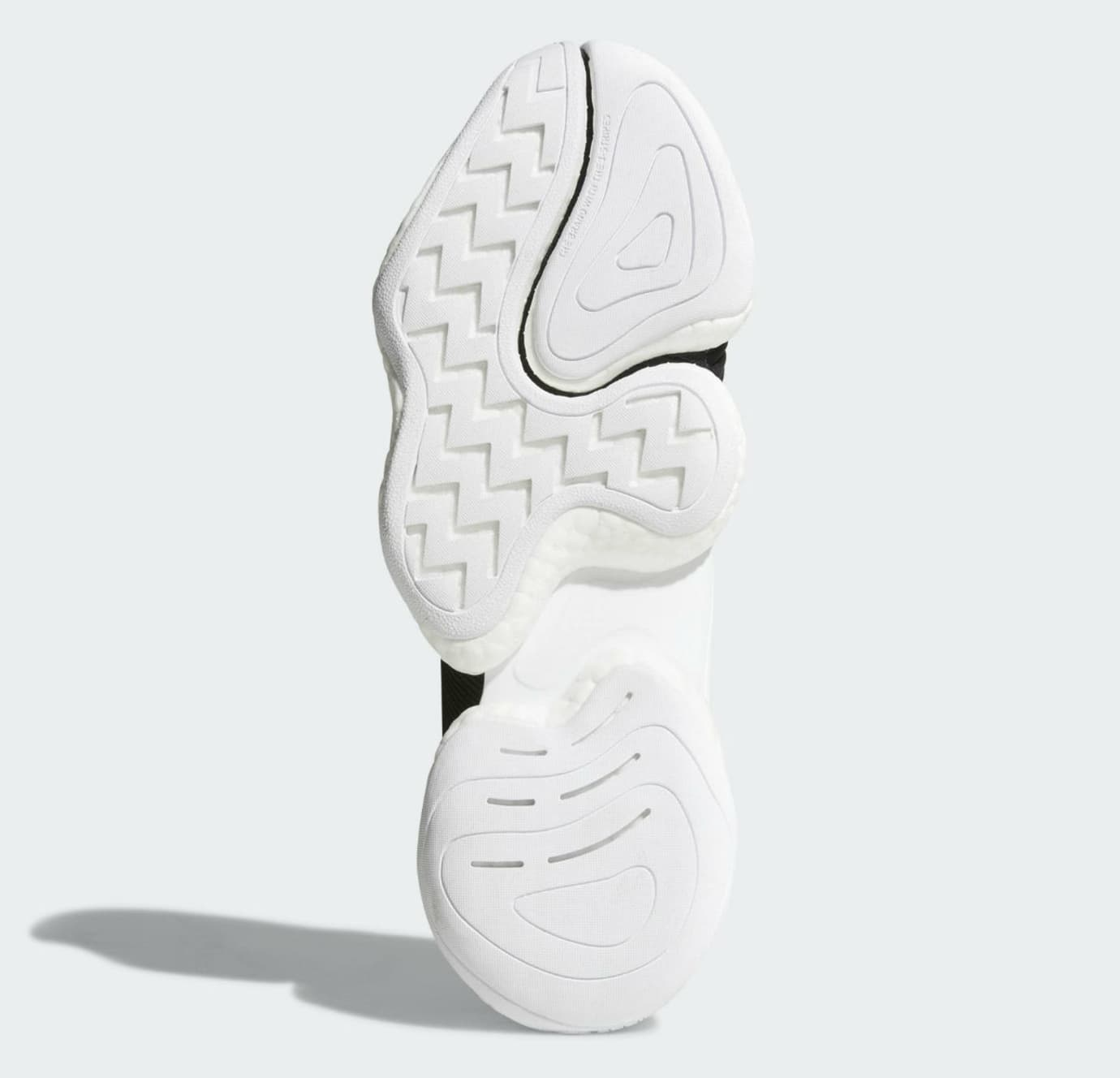 Adidas Crazy BYW LVL 1 Black White Release Date CQ0991 Sole