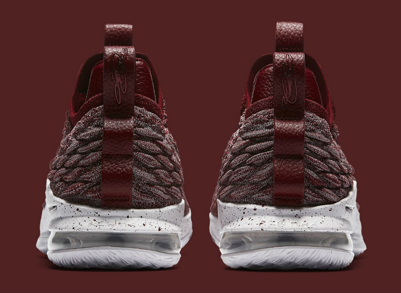 new style 666ee 4f0cf Nike LeBron 15 Low Taupe Grey Team Red Vast Grey Release ...