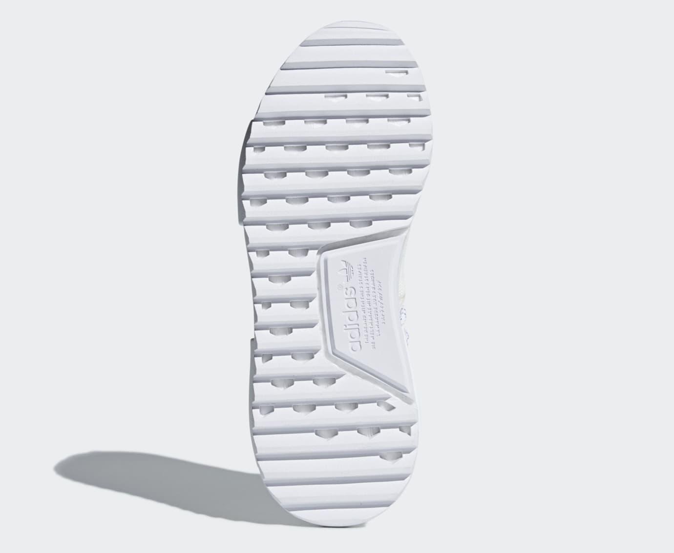 Pharrell Adidas NMD Hu Trail Blank Canvas AC7031 White Sole