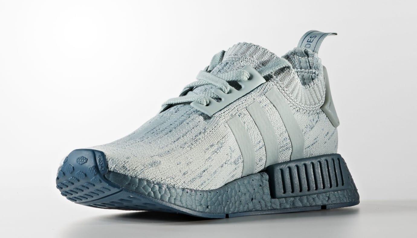Adidas NMD Blue Grey Glitch Boost CG3601 Medial