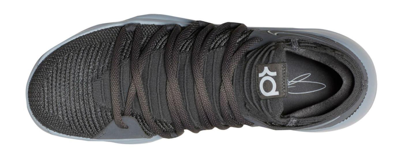newest 6f30a 6cab6 Nike KD 10 Dark Grey Release Date Top 897815-005