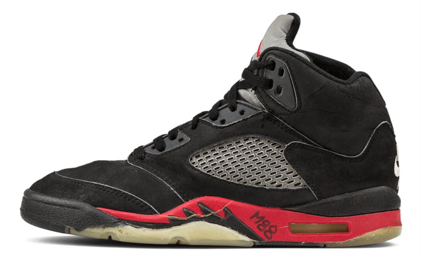 Air Jordan 5 Bred Sample