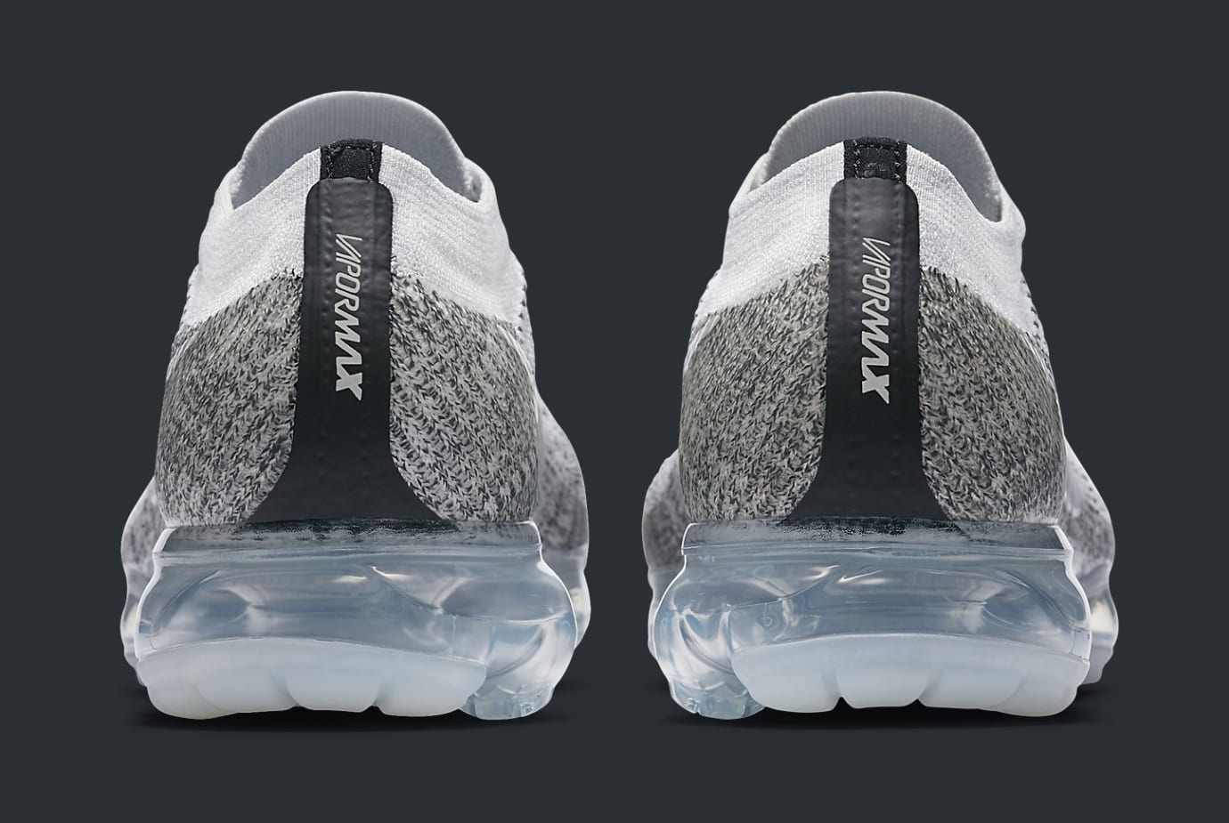 Oreo Nike VaporMax 899473-002 Heel