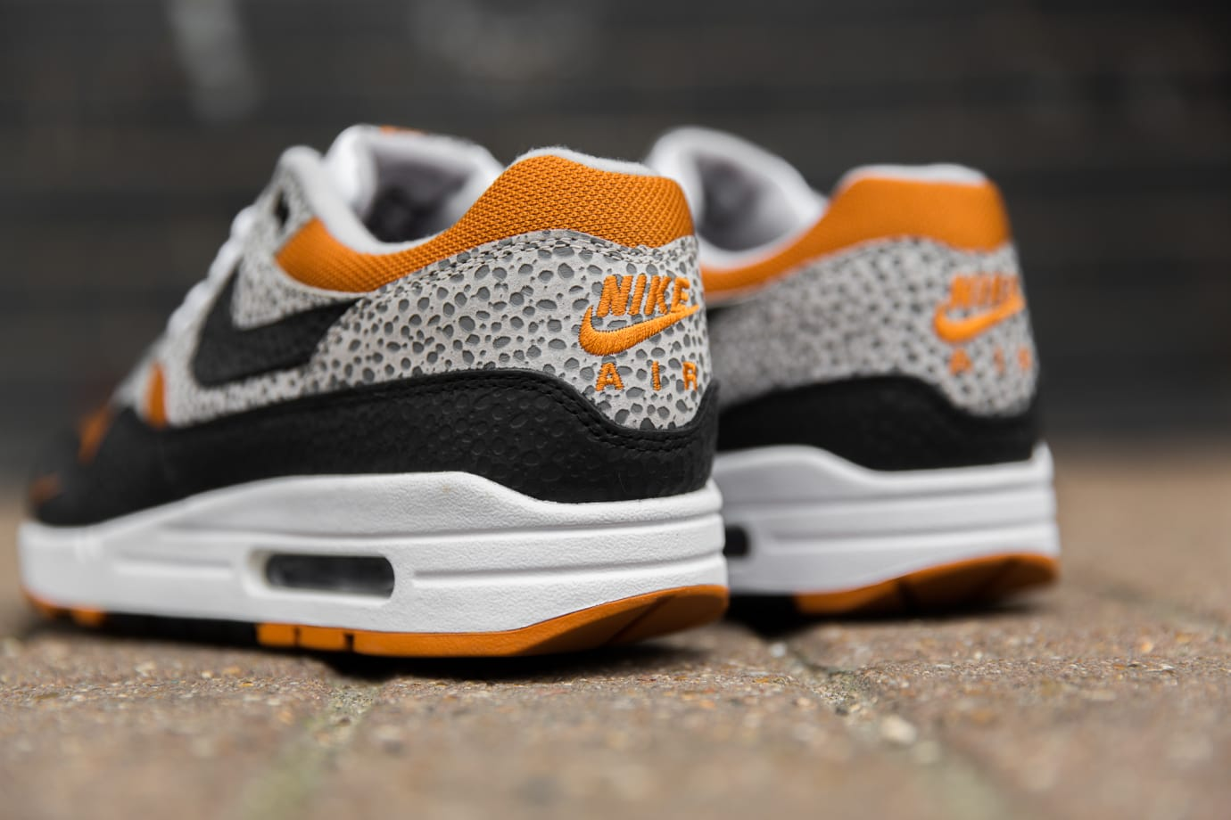 size? x Nike Air Max 1 'Safari' (Heel)