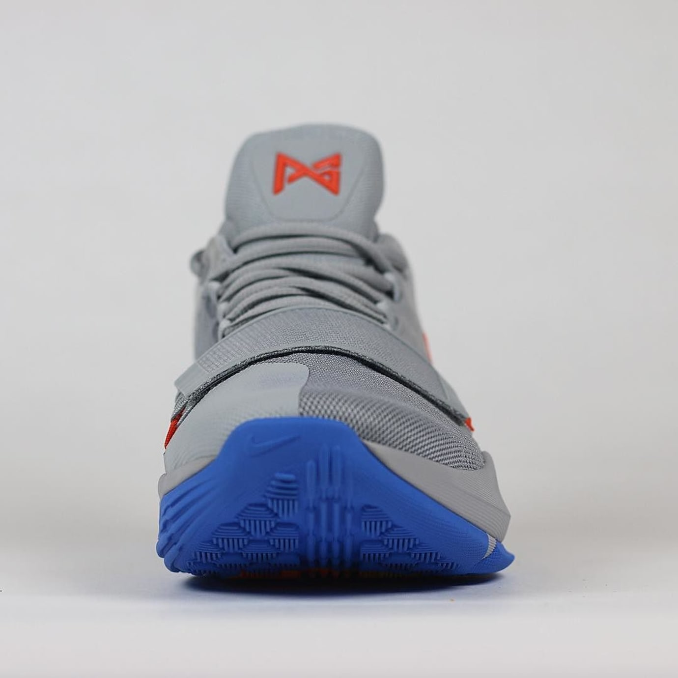 Paul George Nike PG1 Grey OKC Gradient PE Front