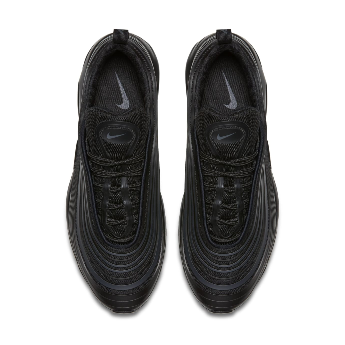 Nike Air Max 97 Ultra 'Triple Black' New Pattern (Top)
