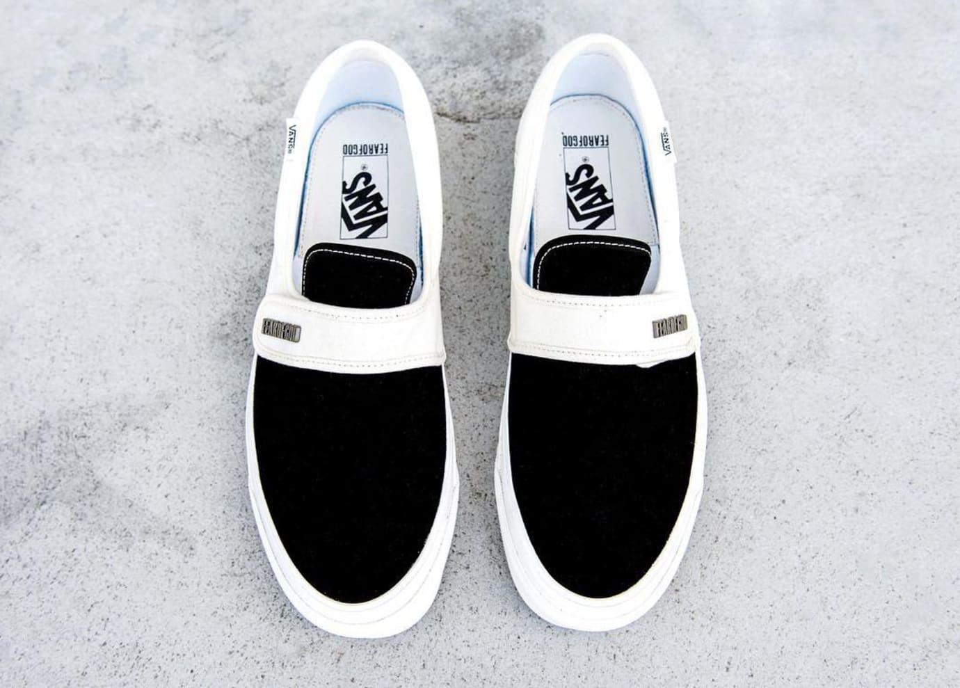 Fear of God Vans Style 147 Black White