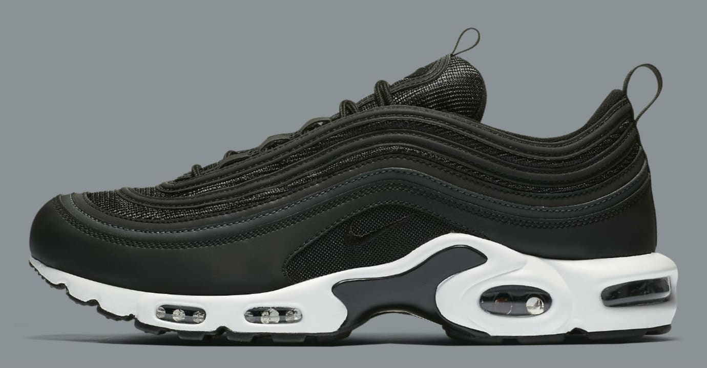 Nike Air Max Plus 97 Black White Release Date Profle AH8143-001