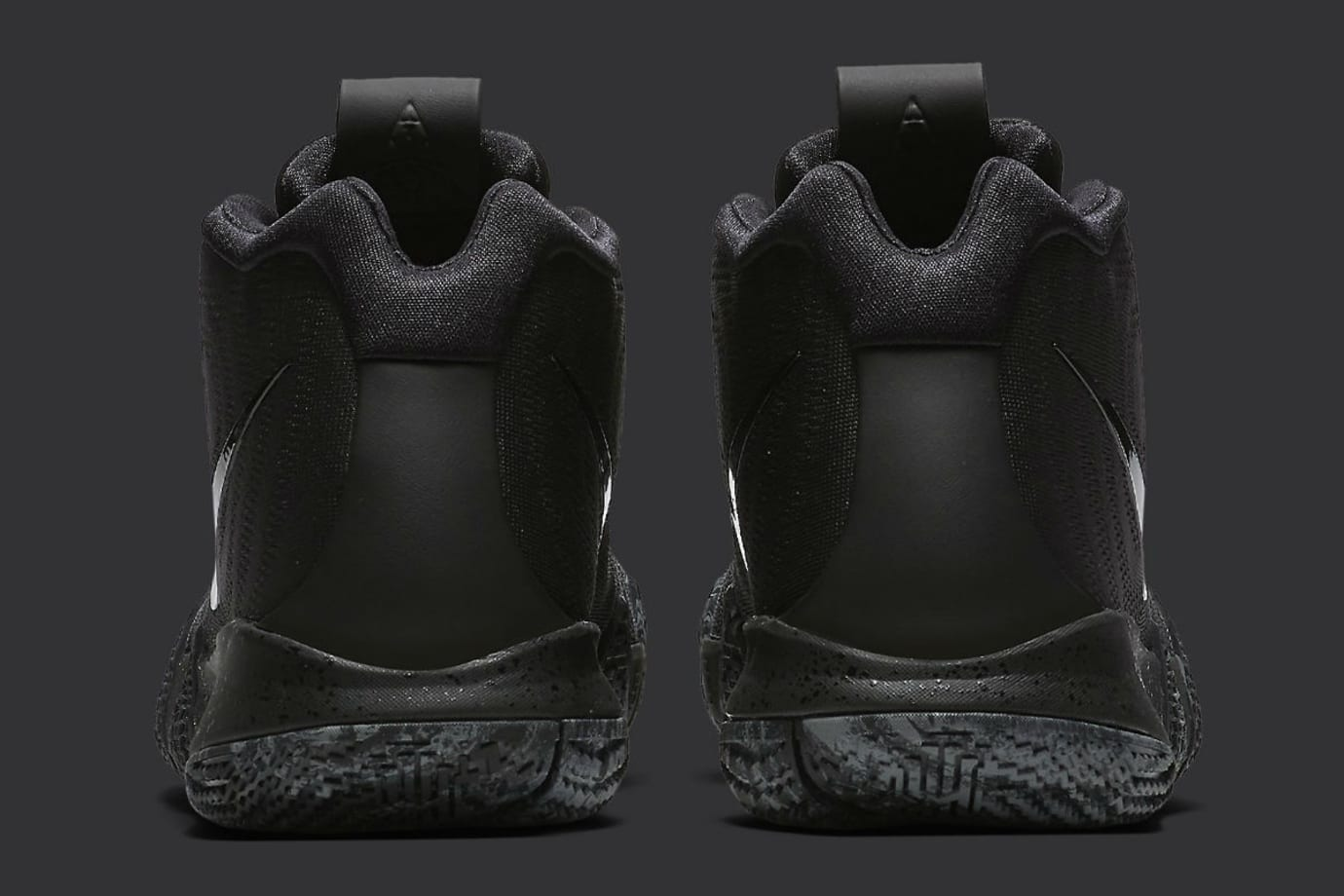 Nike Kyrie 4 Triple Black Release date 943807-008 Heel