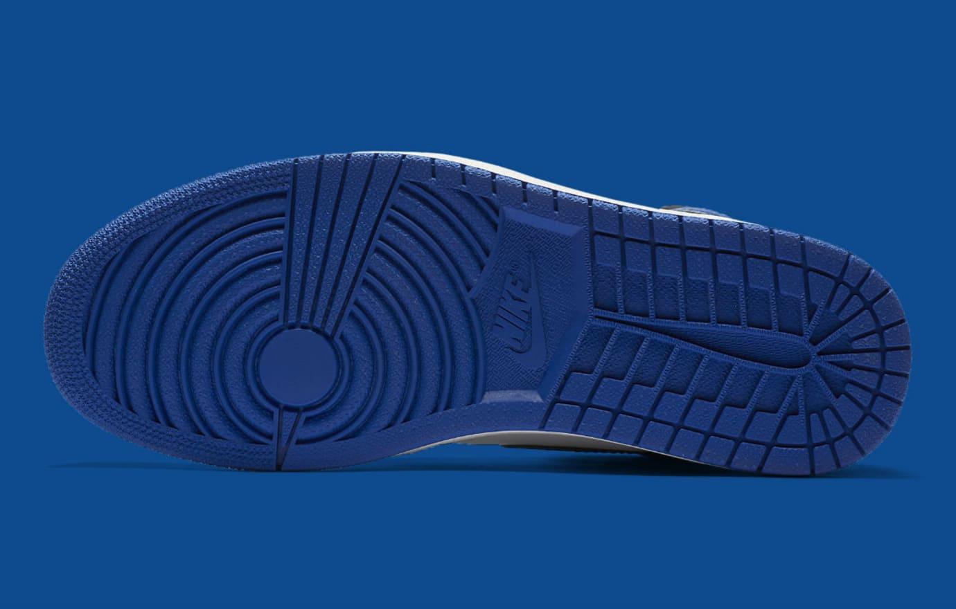 Air Jordan 1 High Game Royal Release Date 555088-403 Sole