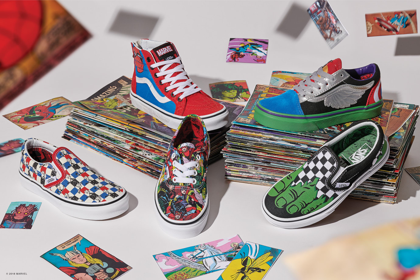 Vans x Marvel Collection 2