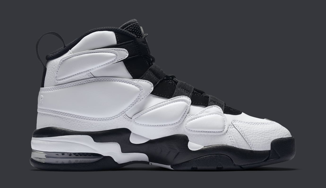 Nike Air Max 2 Uptempo 94 White Black 922934-102 Medial