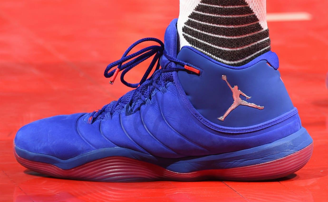 Jordan Super Fly 6 Blue Red (2)