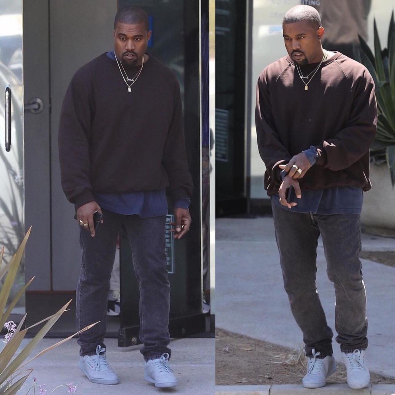 Kanye West Grey Yeezy Powerphase