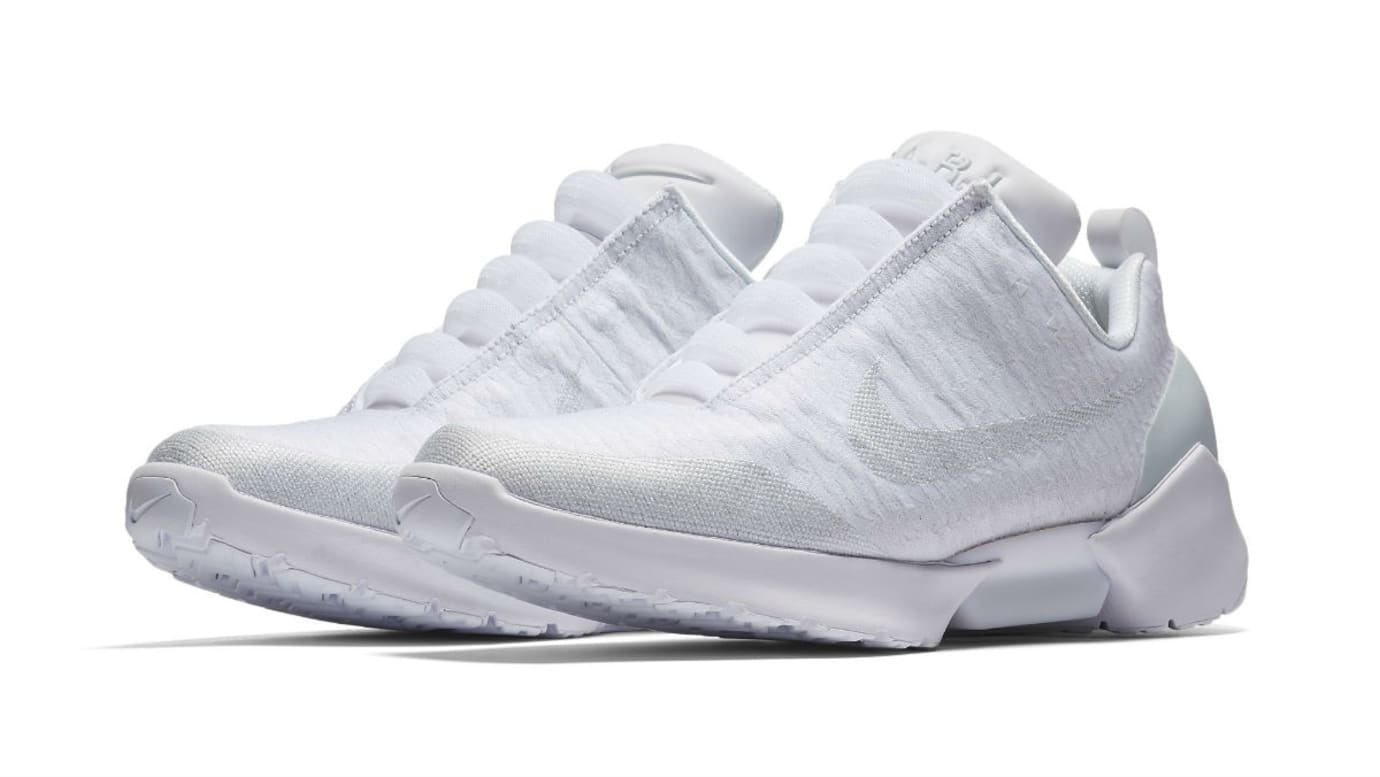 Nike HyperAdapt 1.0 Triple White Release Date AH9389-102 Main