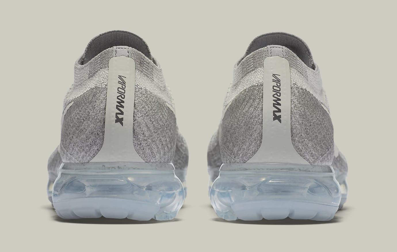Nike Air VaporMax Pale Grey 849558-005 Heel