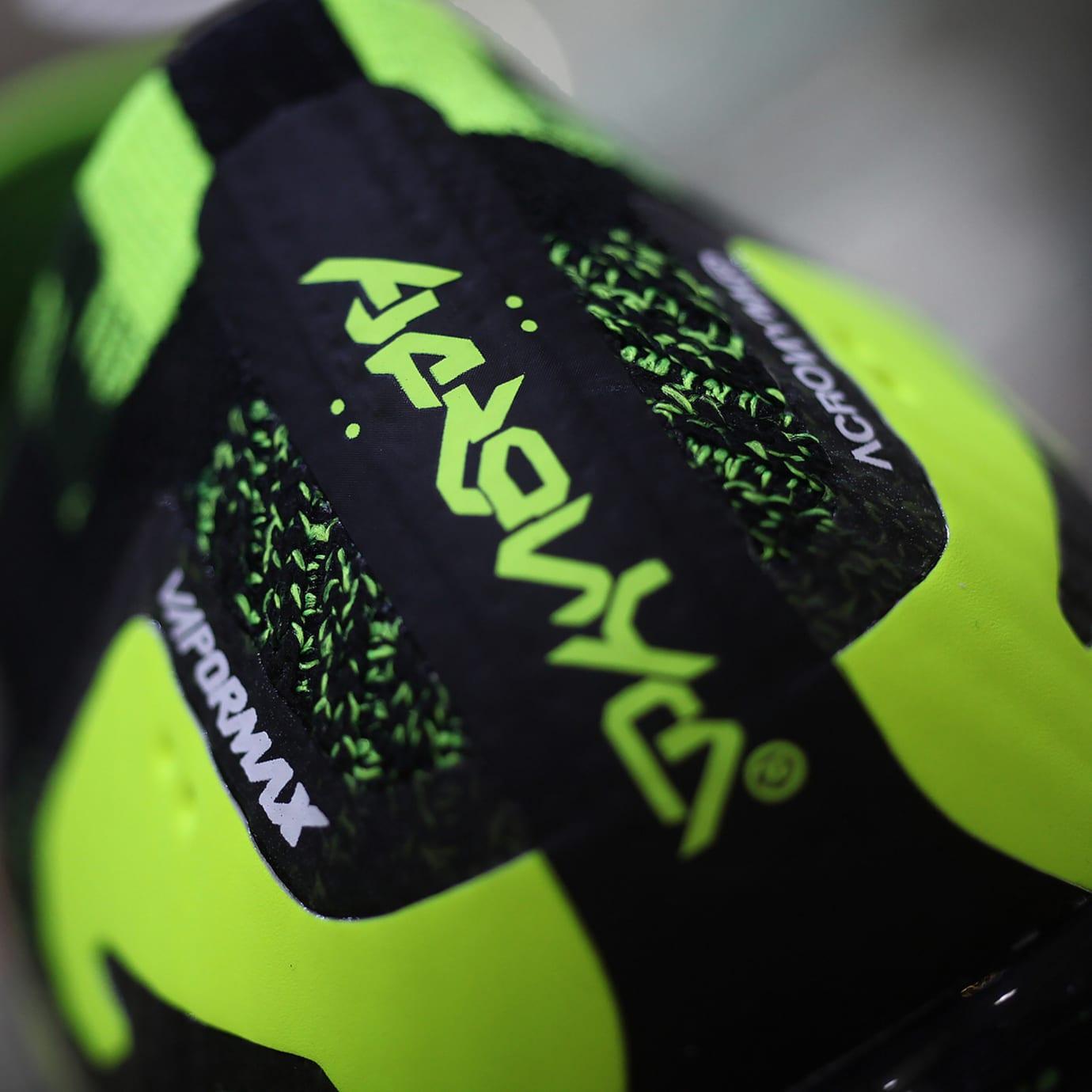6389109ba6 Acronym x Nike Air VaporMax Moc 2 Black/Volt AQ0996-007 Detailed ...