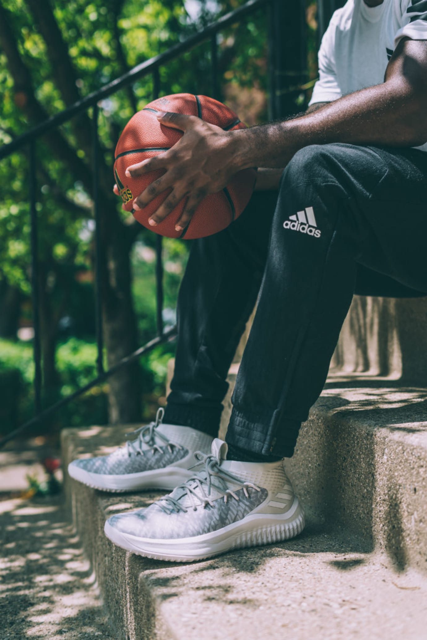 Adidas Dame 4 Start to Finish Release Date BY4495 On-Foot