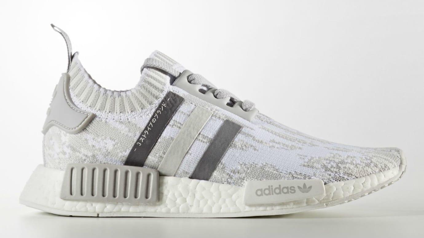 Adidas Women's NMD_R1 Primeknit Triple Grey Release Date BY98645