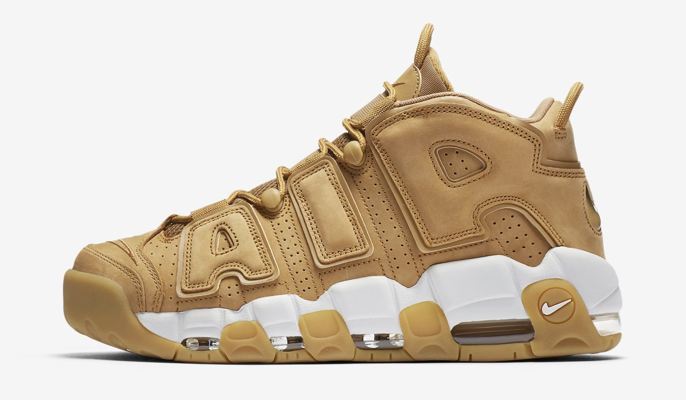 Wheat Nike Air More Uptempo Flax AA4060-200