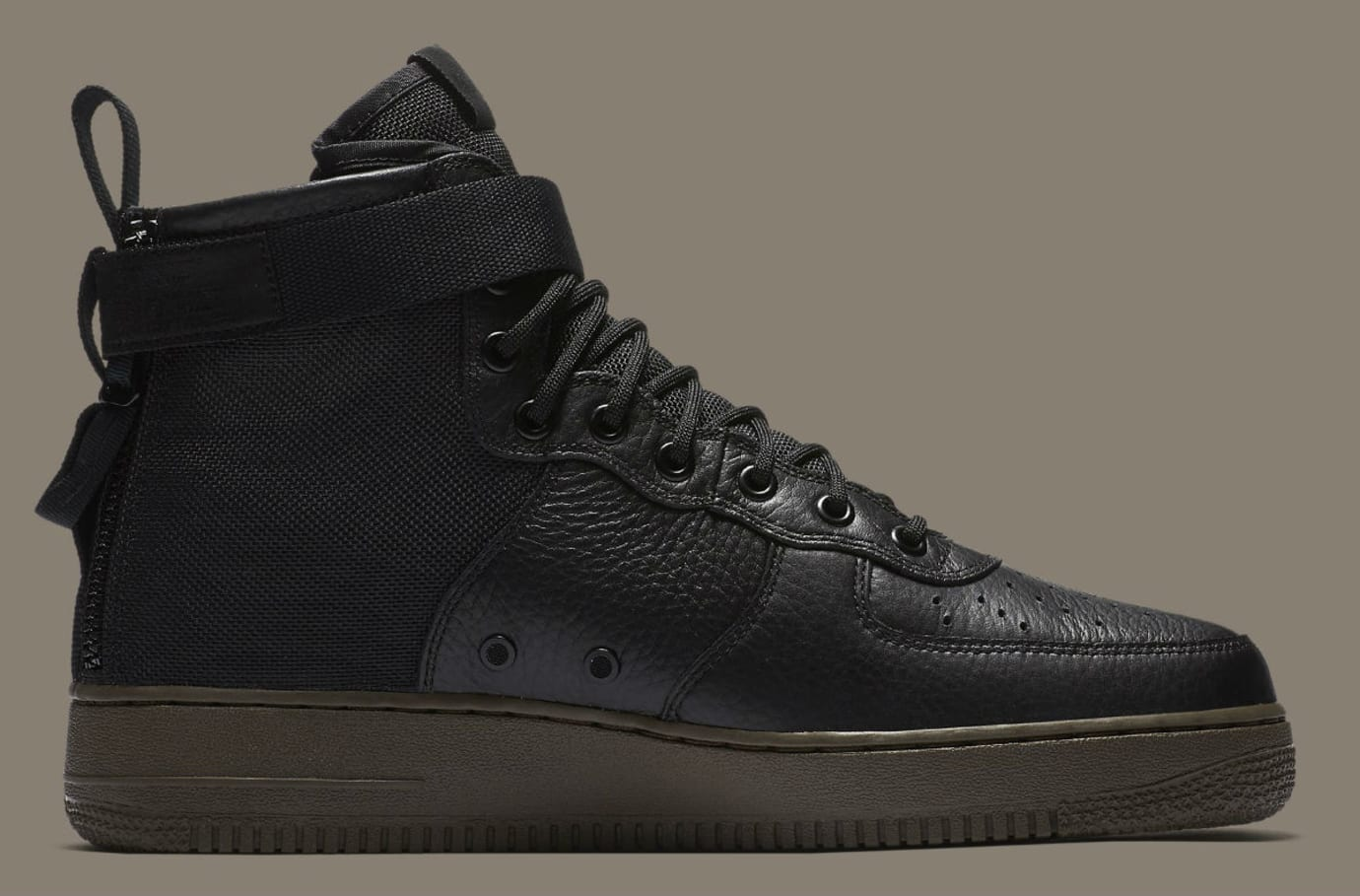 Nike SF Air Force 1 Mid Cargo Khaki Release Date Medial 917753-002