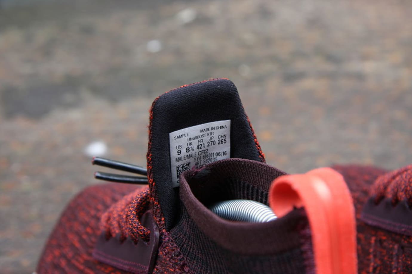 63186fff124 Adidas Ultra Boost ATR Red Release Date S82035 Tag