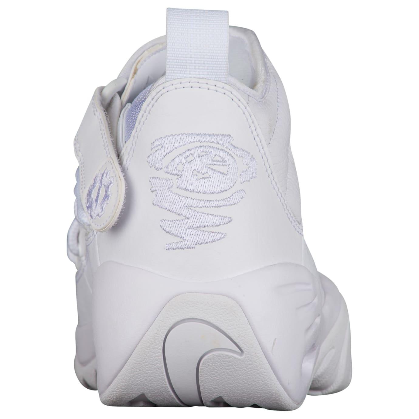 Nike Air Shake Ndestrukt All-White Release Date Heel 880869-101