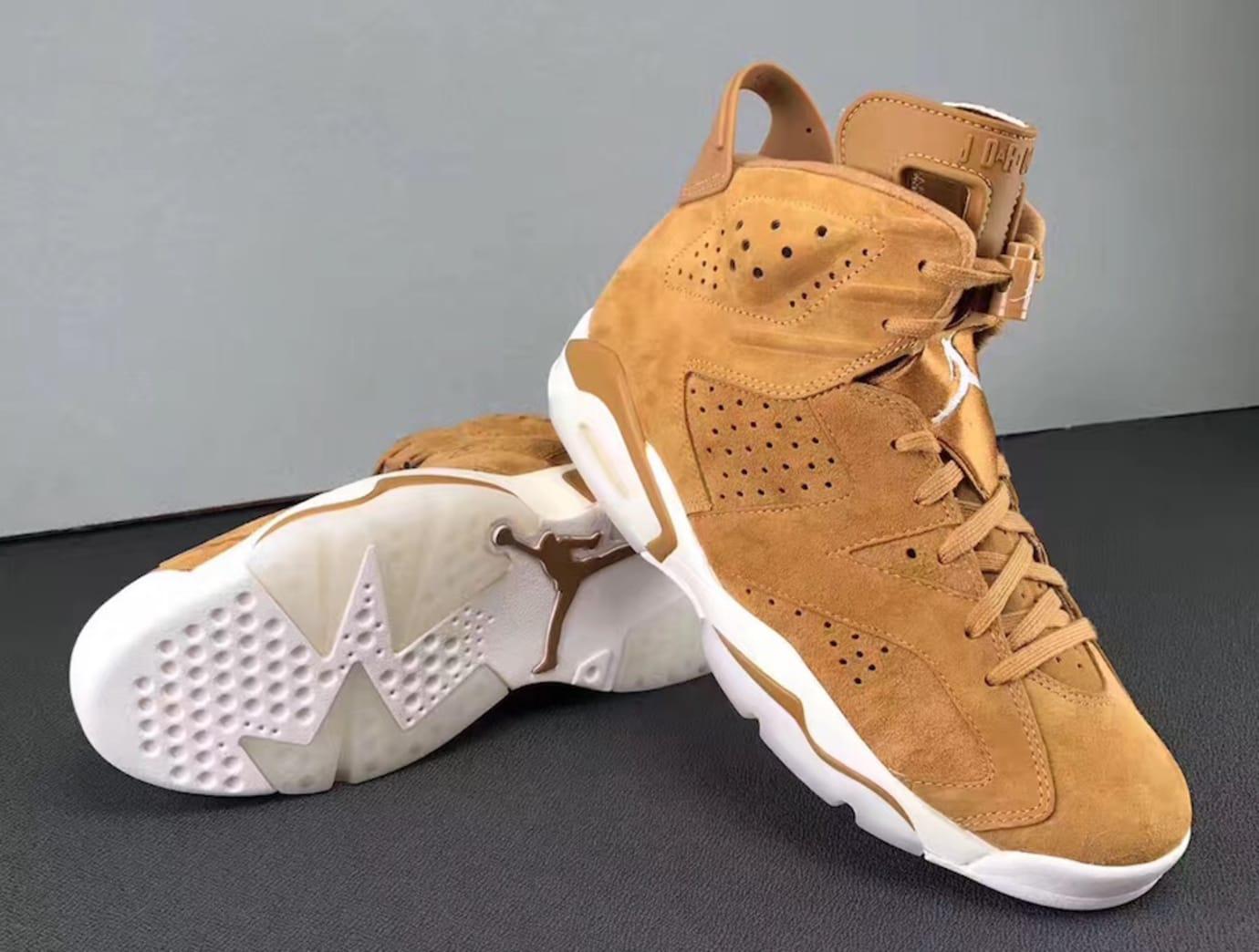 Air Jordan 6 Golden Harvest Release Date 384664-705 (7)