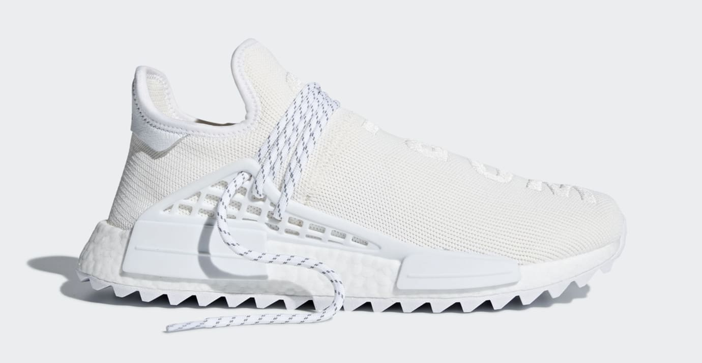 Pharrell Adidas NMD Hu Trail Blank Canvas AC7031 White Profile