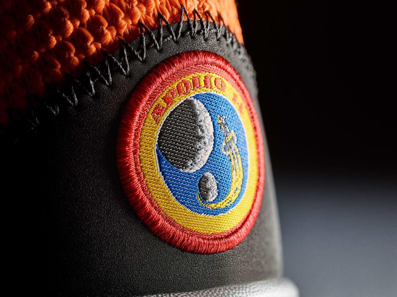Nike PG 3 NASA Release Date CI2666-800 Heel Apollo