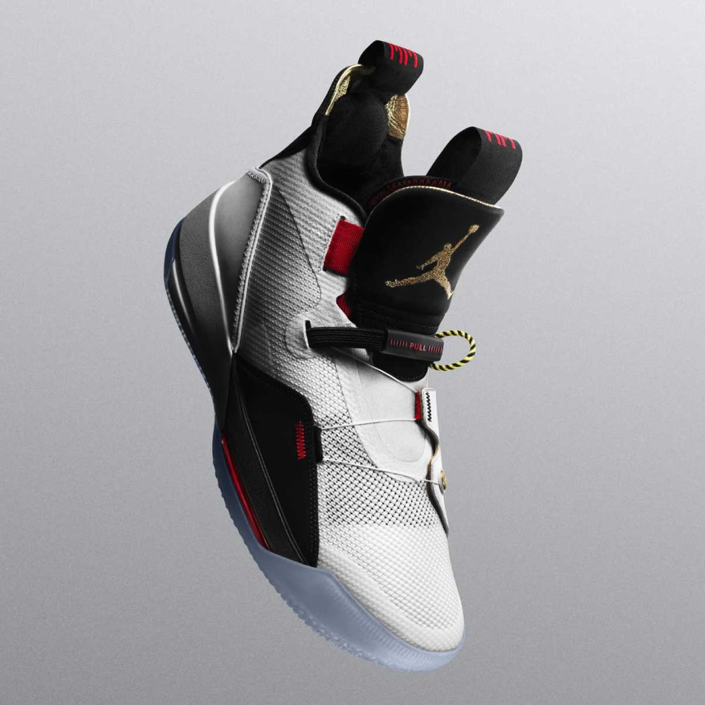 Air Jordan 33 White Black Red Release Date Front