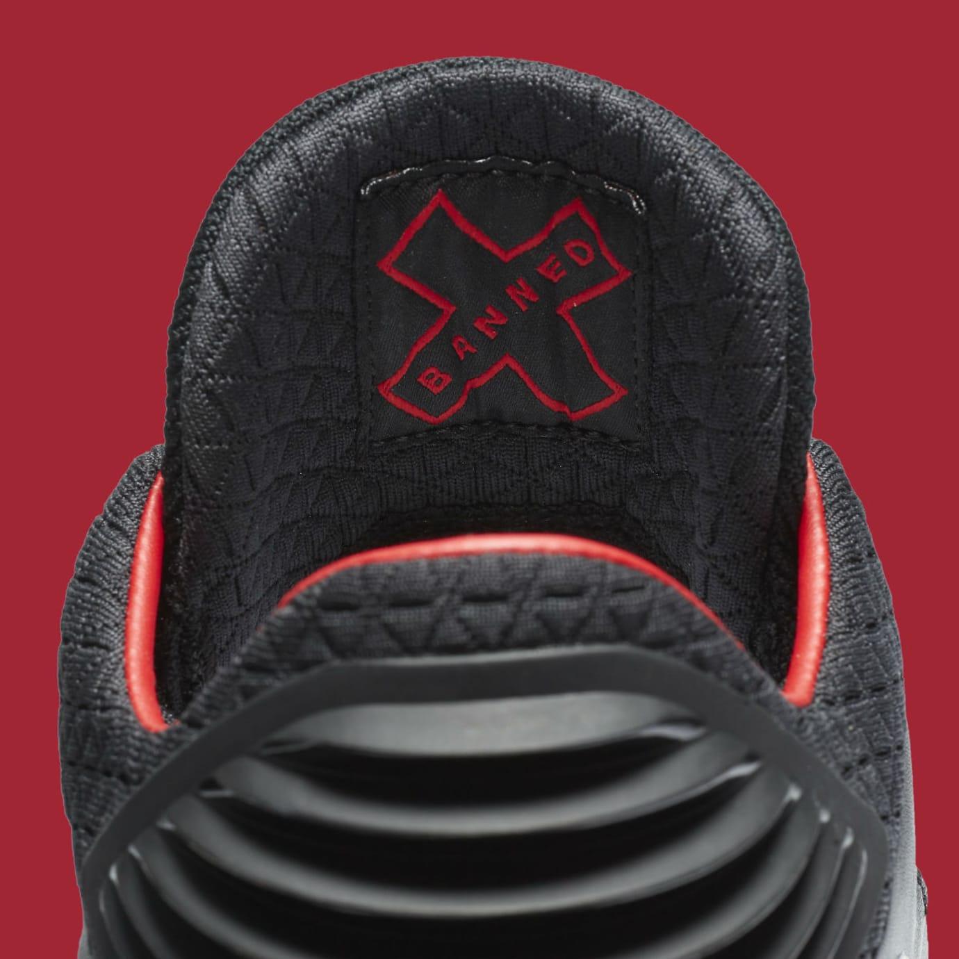 Air Jordan 32 Low Banned Release Date Tongue AA1256-001