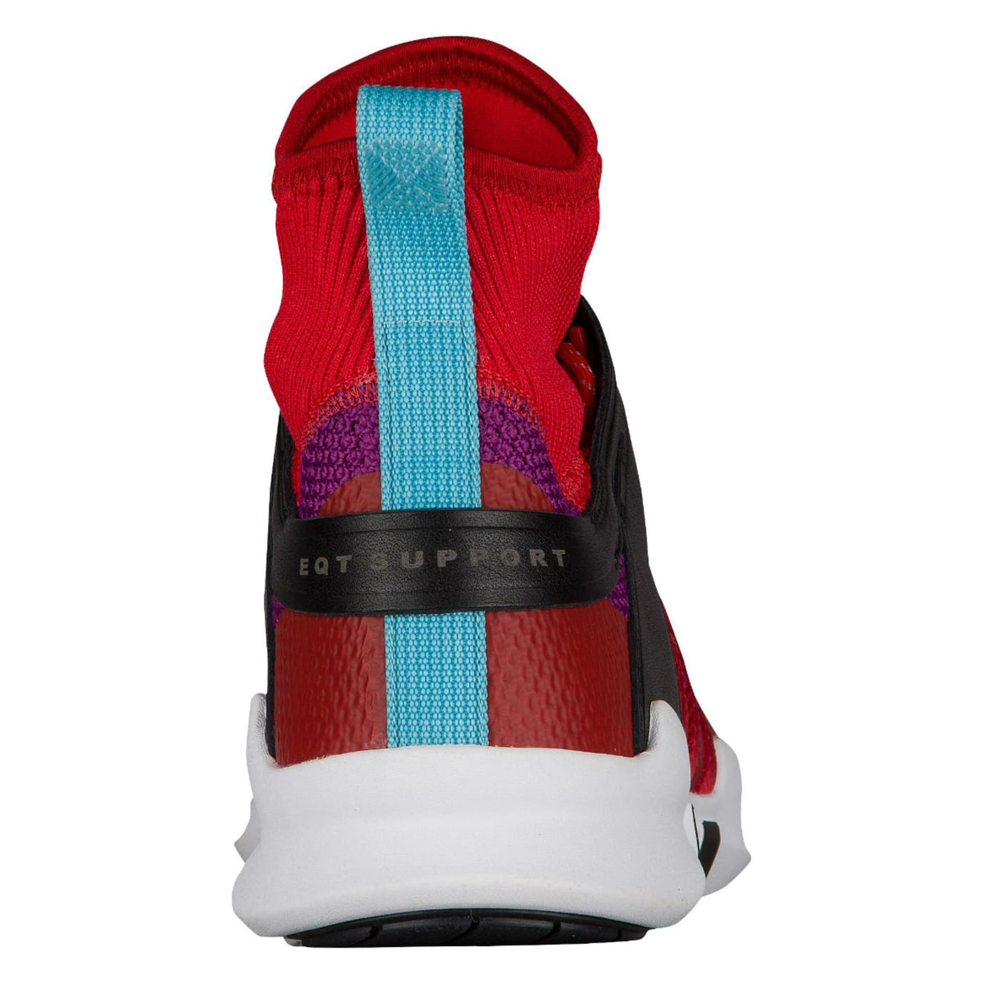 detailed look dd800 16da6 Adidas EQT Support ADV Winter Scarlet Shock Purple Release Date Heel