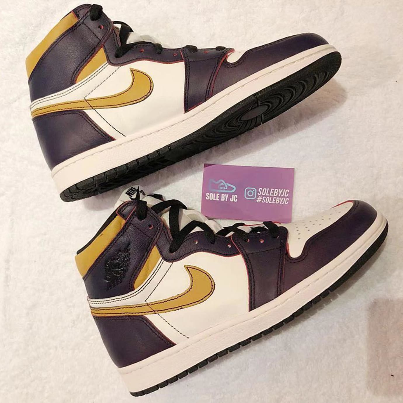 Nike SB x Air Jordan 1 'Lakers' CD6578-507 4