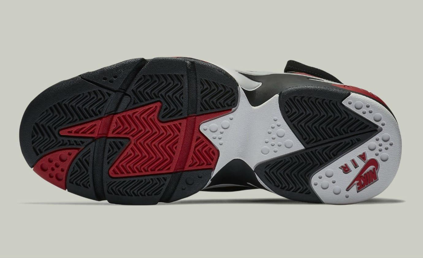 Nike Air Maestro 2 II LTD Black Vast Grey Gym Red Release Date AH8511-002 Sole