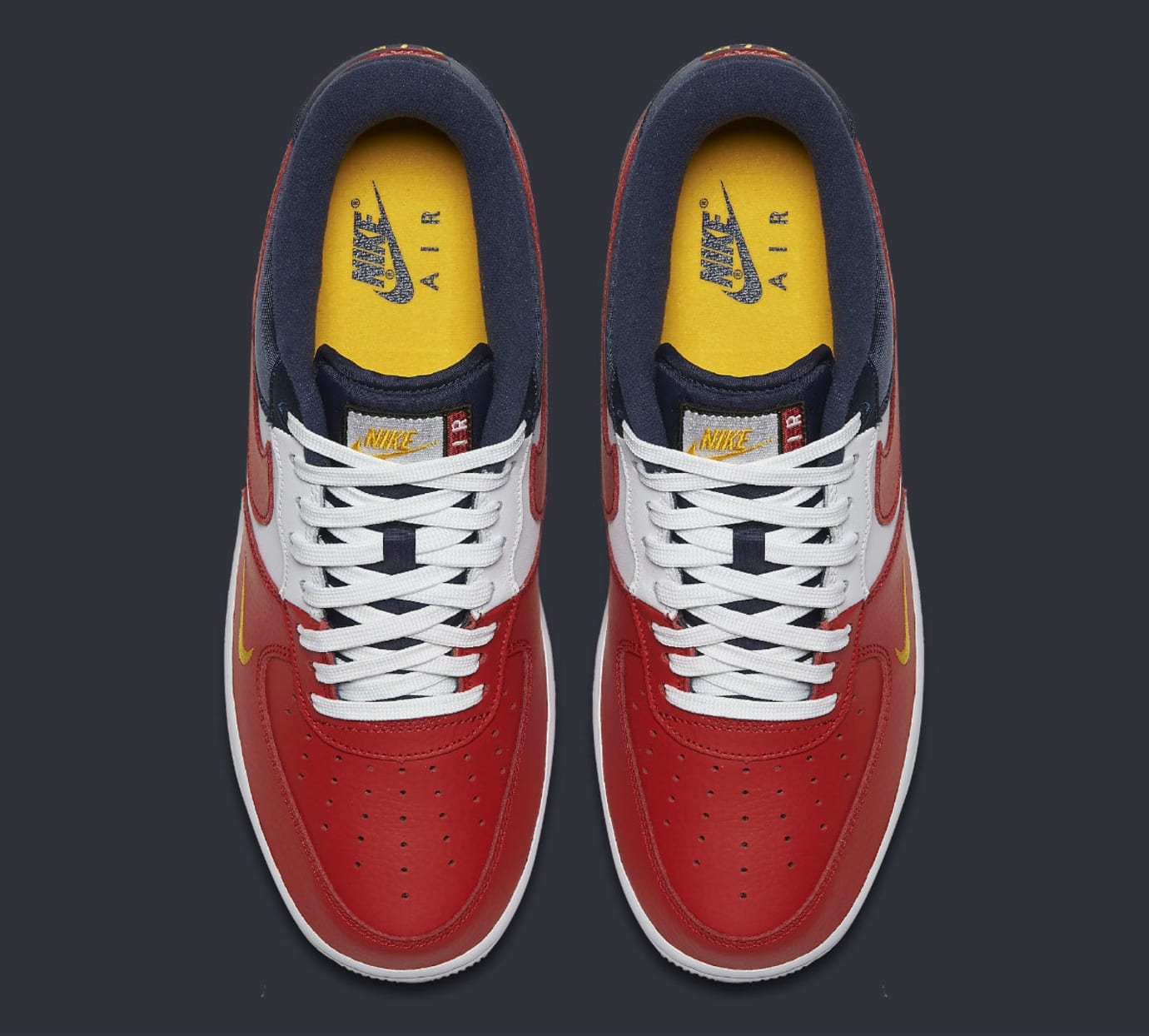 Nike Air Force 1 Low Mini Swoosh USA Release Date Top 823511-601